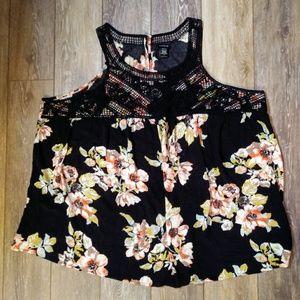 Torrid floral sleeveless